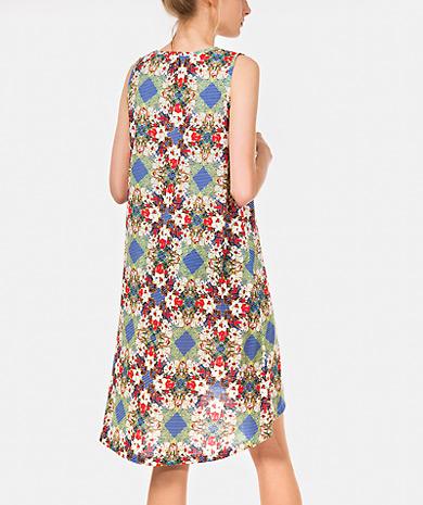 a8e17792020 Vestido estampado Vestidos Mulher Primavera Verão OUTLET